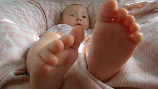 赤ちゃん足裏