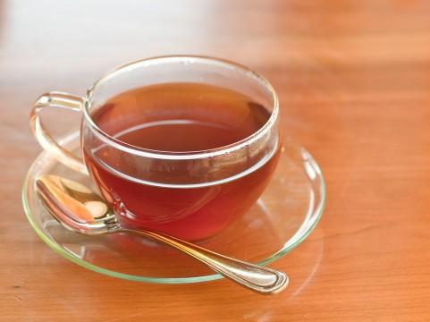 ホットの紅茶