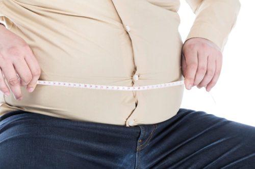 肥満体系で成人病の不安のある男性