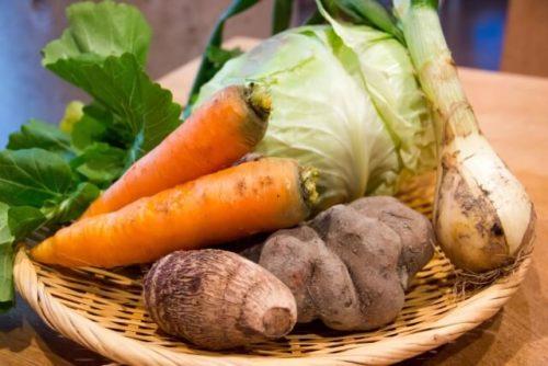 さまざまな根菜類