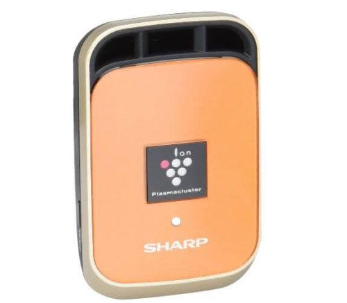 シャープのイオン発生器のエアコン吹き出し口に取り付ける車用