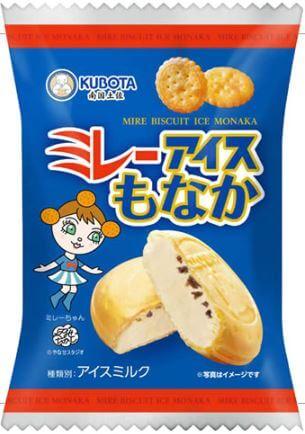 久保田のミレーアイスもなか