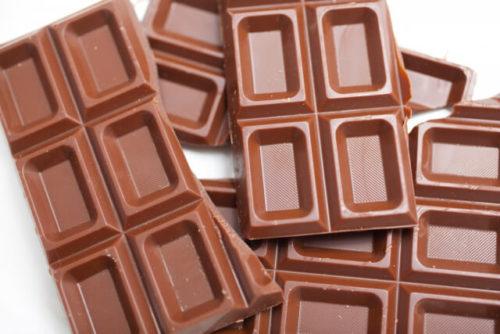 カカオの含有量のおおいチョコレート