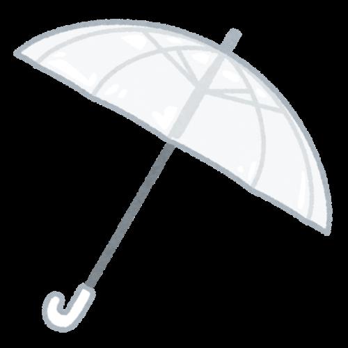 手軽に役立つビニール傘