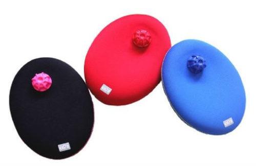 3色のたまご型湯たんぽ