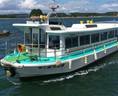 海中水族館シードーナッツで体験できる遊覧船