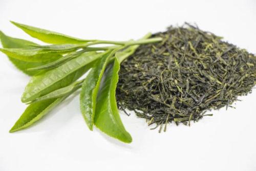 緑林の香り効果のある緑茶の茶葉