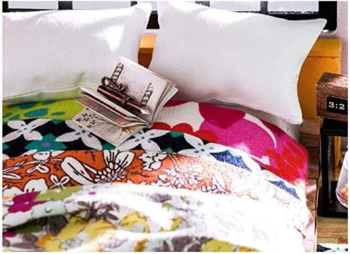 ベッドのアップ画像