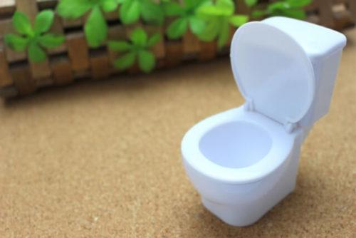 トイレの模型がある