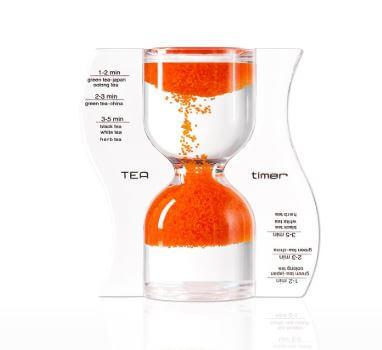 パラドックスのオレンジ色のティータイマー