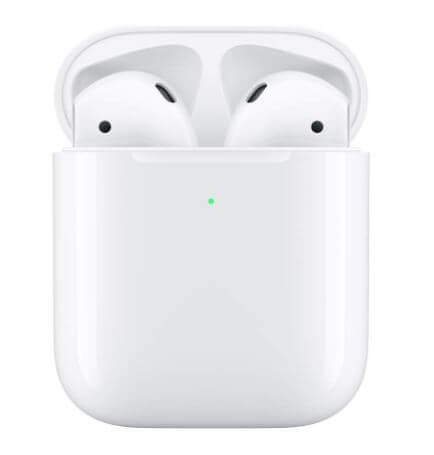 AirPods AIRPODS with Wireless Chaeging Caseに入れているイヤホン