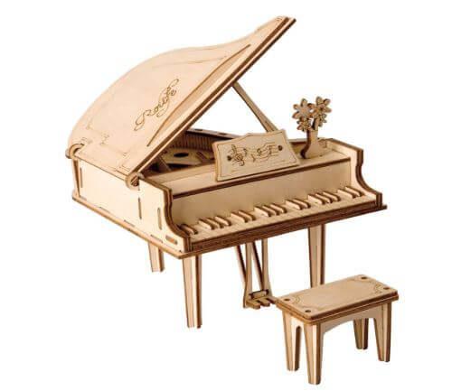 Robotime立体パズルのピアノ