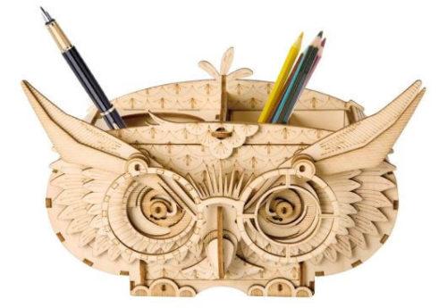 Robotimeのフクロウの筆筒