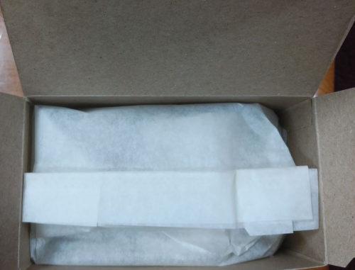セレッシャルの「シナモンアップルスパイスティー」の箱の内部