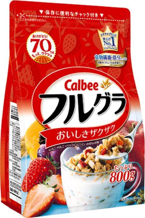 カルビー「フルグラ」の袋